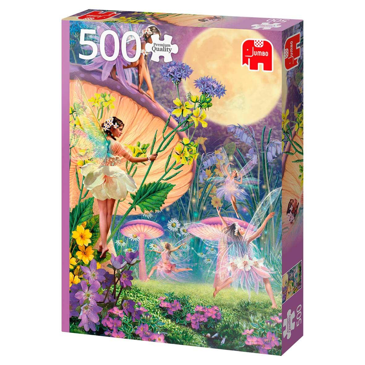 Puzzle Jumbo Baile de Hadas en Crepúsculo de 500 Piezas