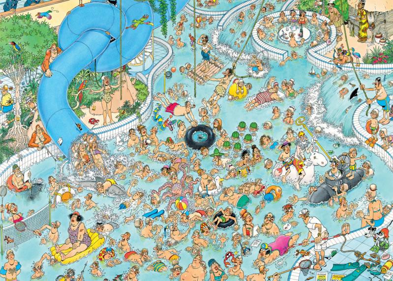Puzzle Jumbo Batalla en el Agua de 3000 Piezas