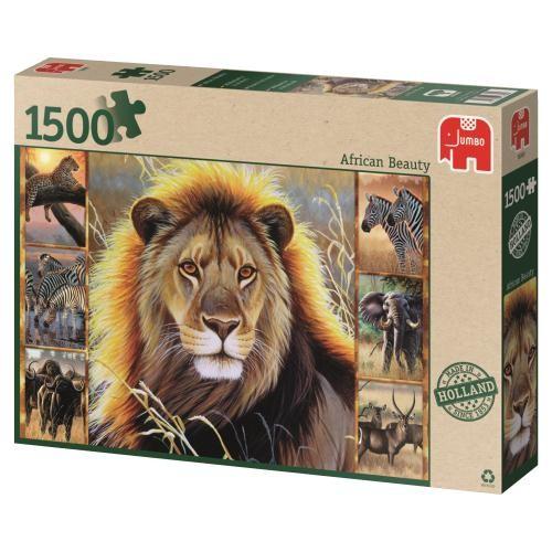 Puzzle Jumbo Belleza Africana de 1500 Piezas