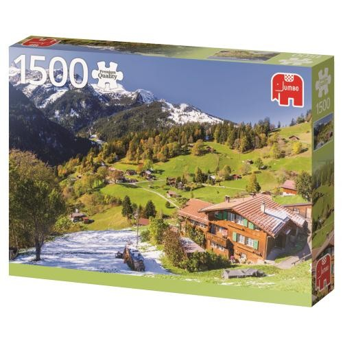 Puzzle Jumbo Bernese Oberland, Suiza de 1500 Piezas