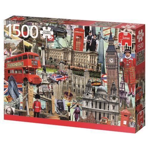 Puzzle Jumbo Best of London de 1500 Piezas