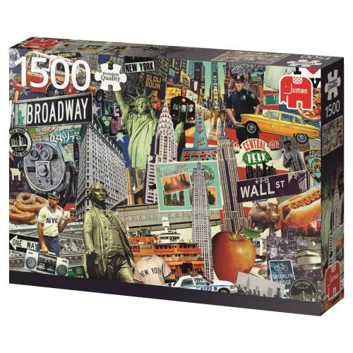 Puzzle Jumbo Best of New York de 1500 Piezas