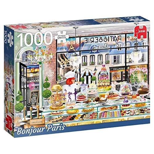 Puzzle Jumbo Bonjour París de 1000 Piezas