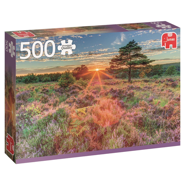 Puzzle Jumbo Brezos al Atardecer de 500 Piezas