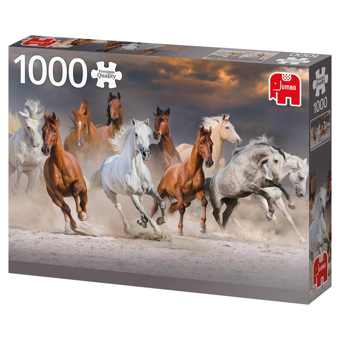 Puzzle Jumbo Caballos del Desierto de 1000 Piezas
