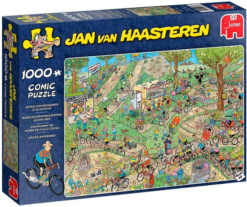 Puzzle Jumbo Campeonato de Ciclocrós de 1000 Piezas