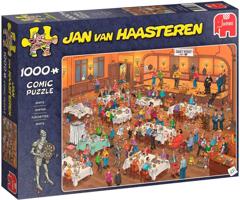 Puzzle Jumbo Campeonato de Dardos 1000 Piezas