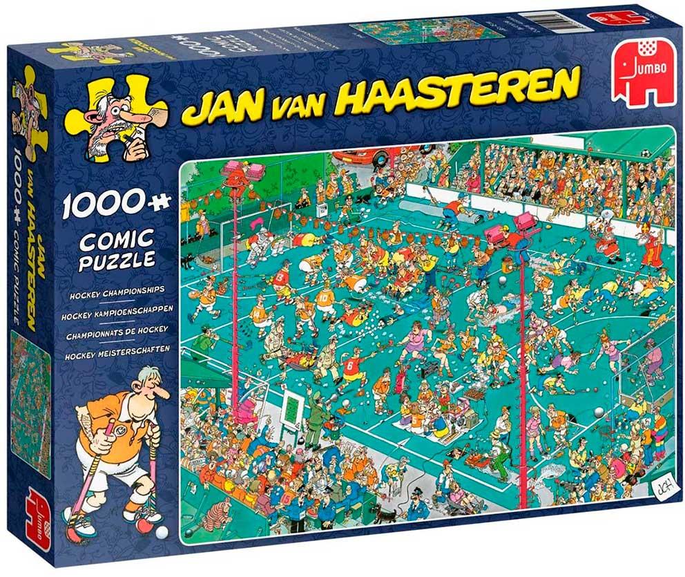 Puzzle Jumbo Campeonato de Hockey de 1000 Piezas