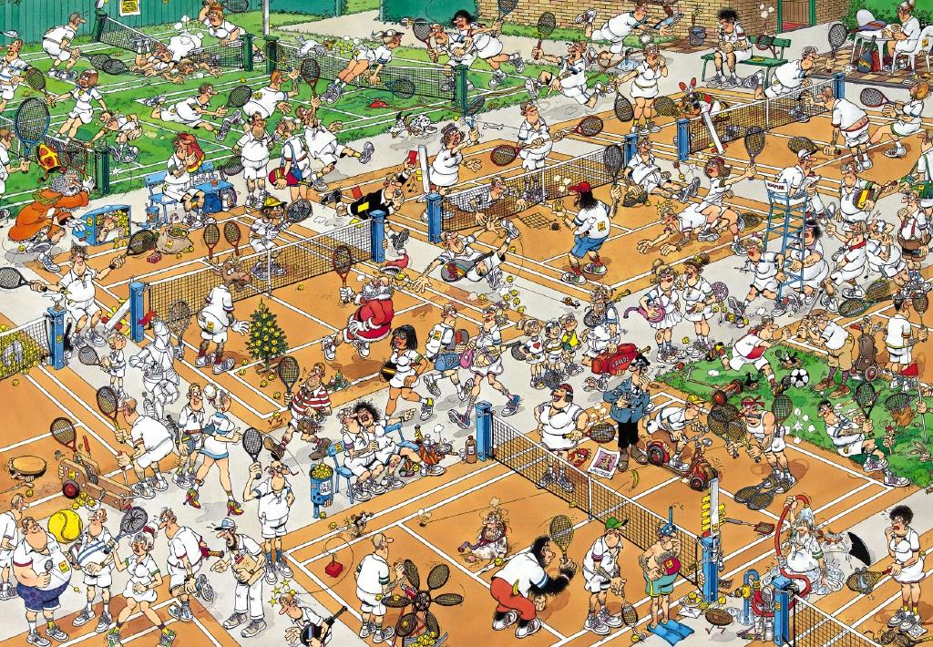 Puzzle Jumbo Campeonato de Tenis de 2000 Piezas