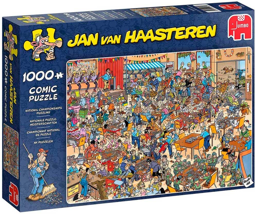 Puzzle Jumbo Campeonato Nacional de Puzzles 1000 Piezas