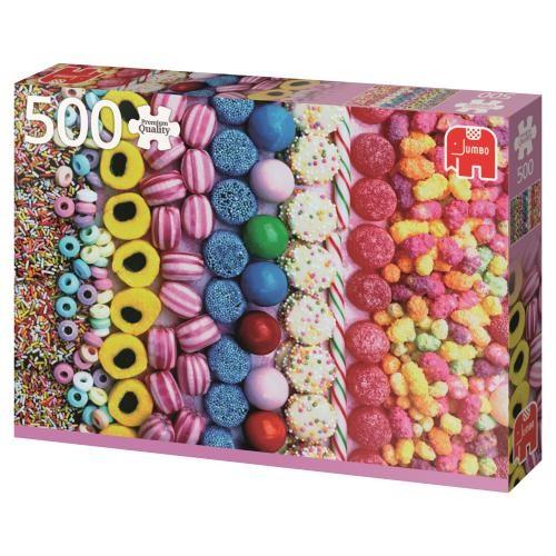 Puzzle Jumbo Caramelos de 500 Piezas