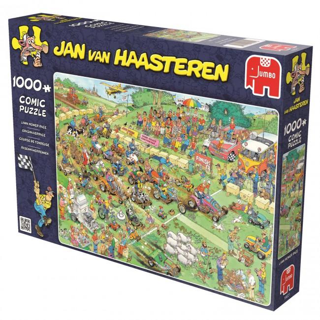 Puzzle Jumbo Carrera de Cortacésped de 1000 Piezas