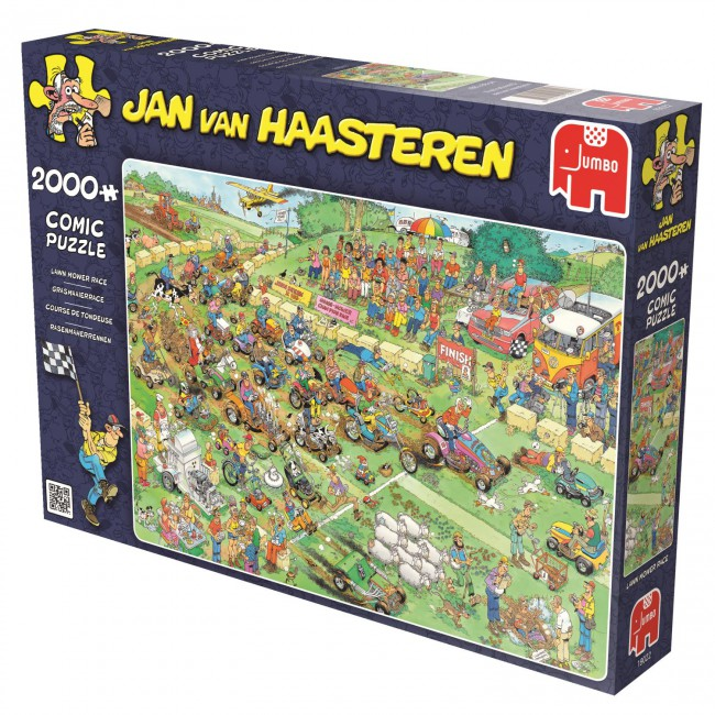 Puzzle Jumbo Carrera en Cortacésped de 2000 Piezas
