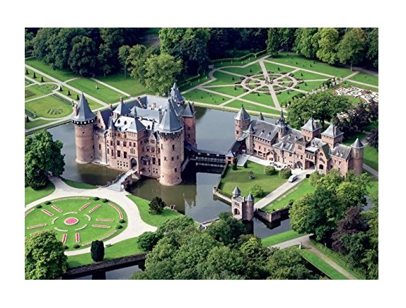 Puzzles de Castillos, Puzzle Jumbo Castillo De Haar, Holanda de 500 Piezas