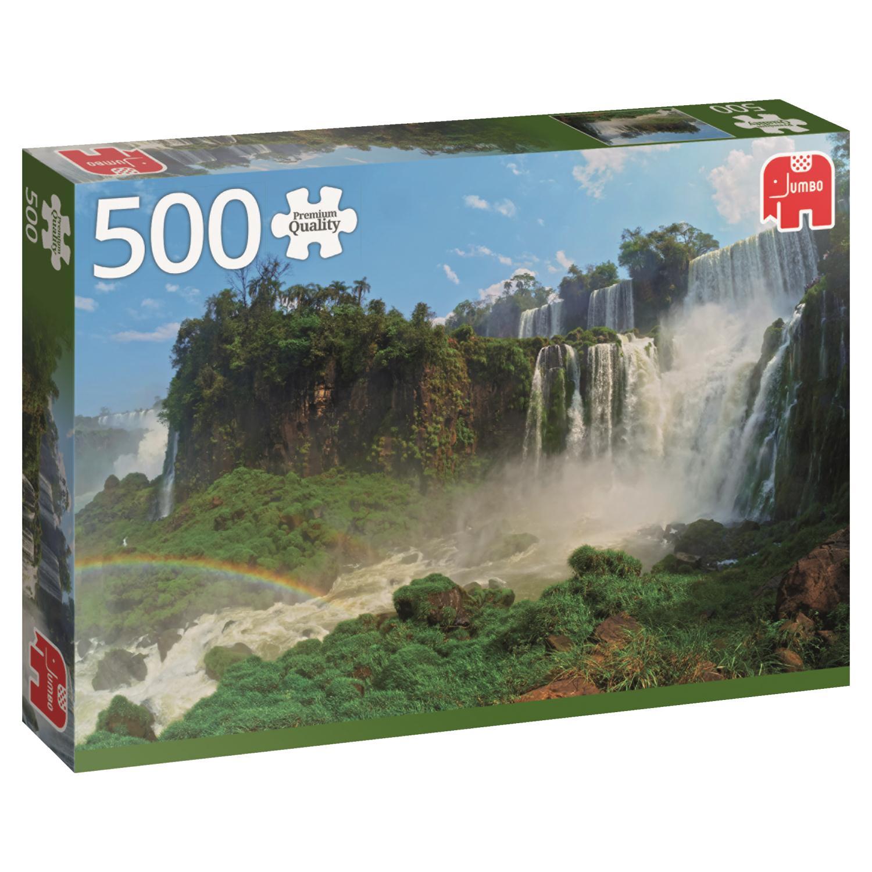 Puzzle Jumbo Cataratas de Iguazu, Argentina de 500 Piezas