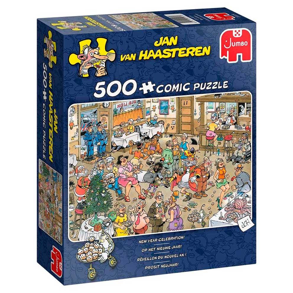 Puzzle Jumbo Celebración de Año Nuevo de 500 Piezas