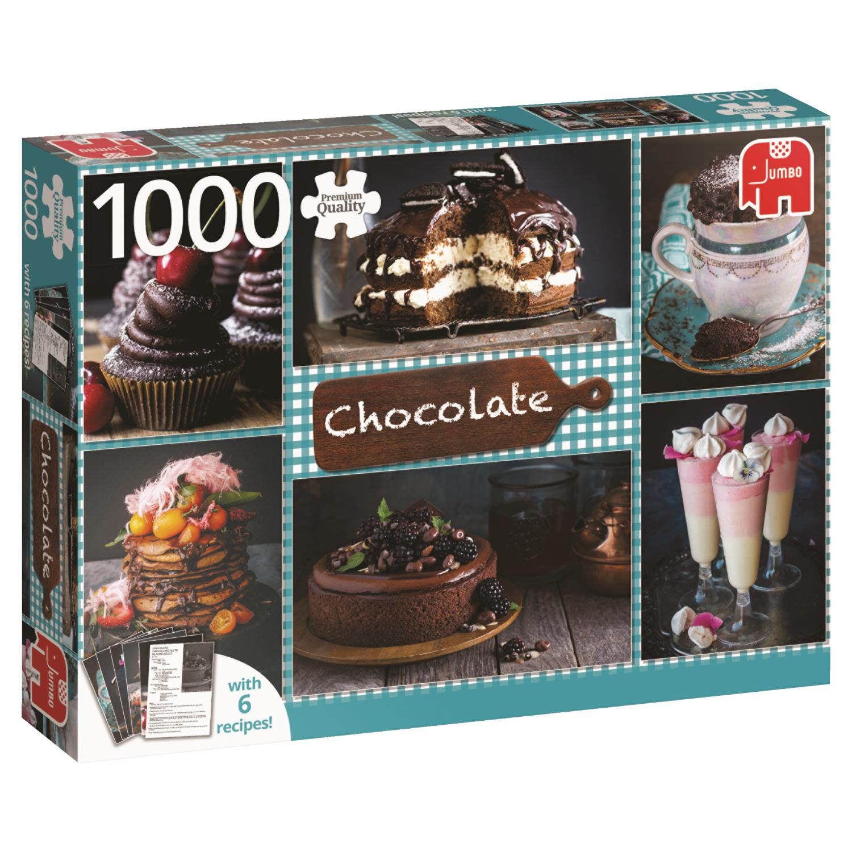 Puzzle Jumbo Chocolate de 1000 Piezas