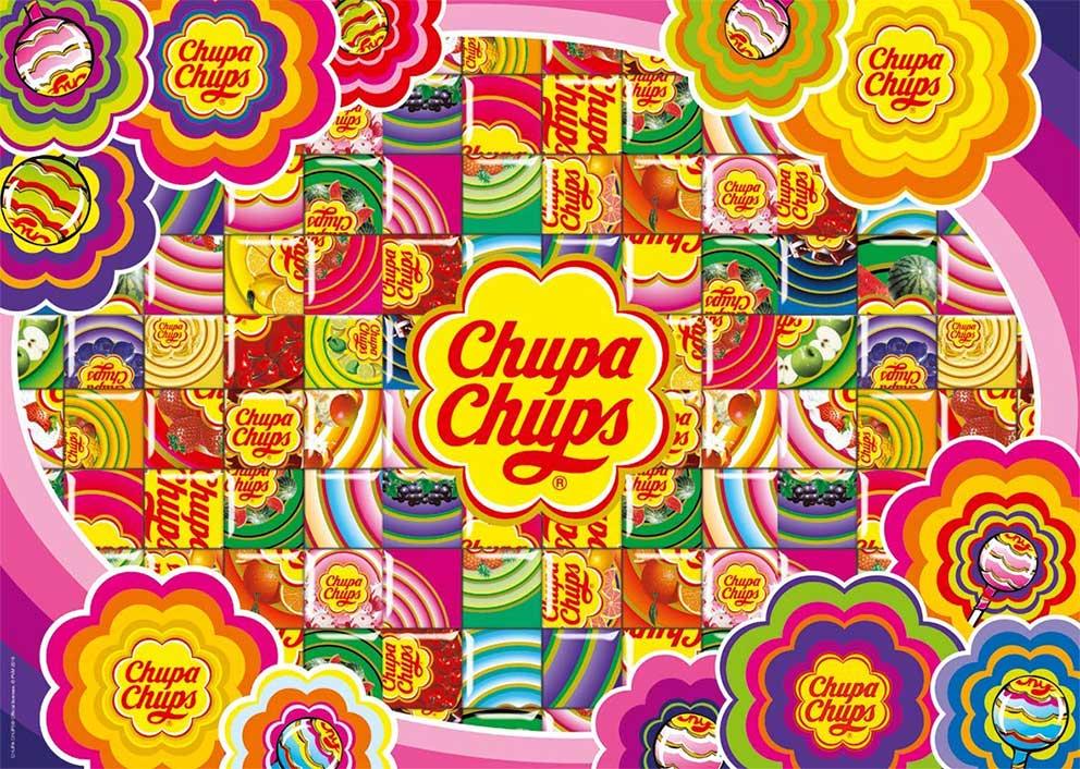 Puzzle Jumbo Chupa Chups, Colorfull de 500 Piezas