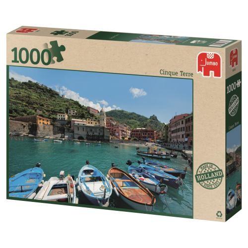 Puzzle Jumbo Cinque Terre, Italia de 1000 Piezas