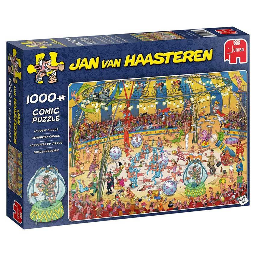 Puzzle Jumbo Circo de Acrobacias de 1000 Piezas