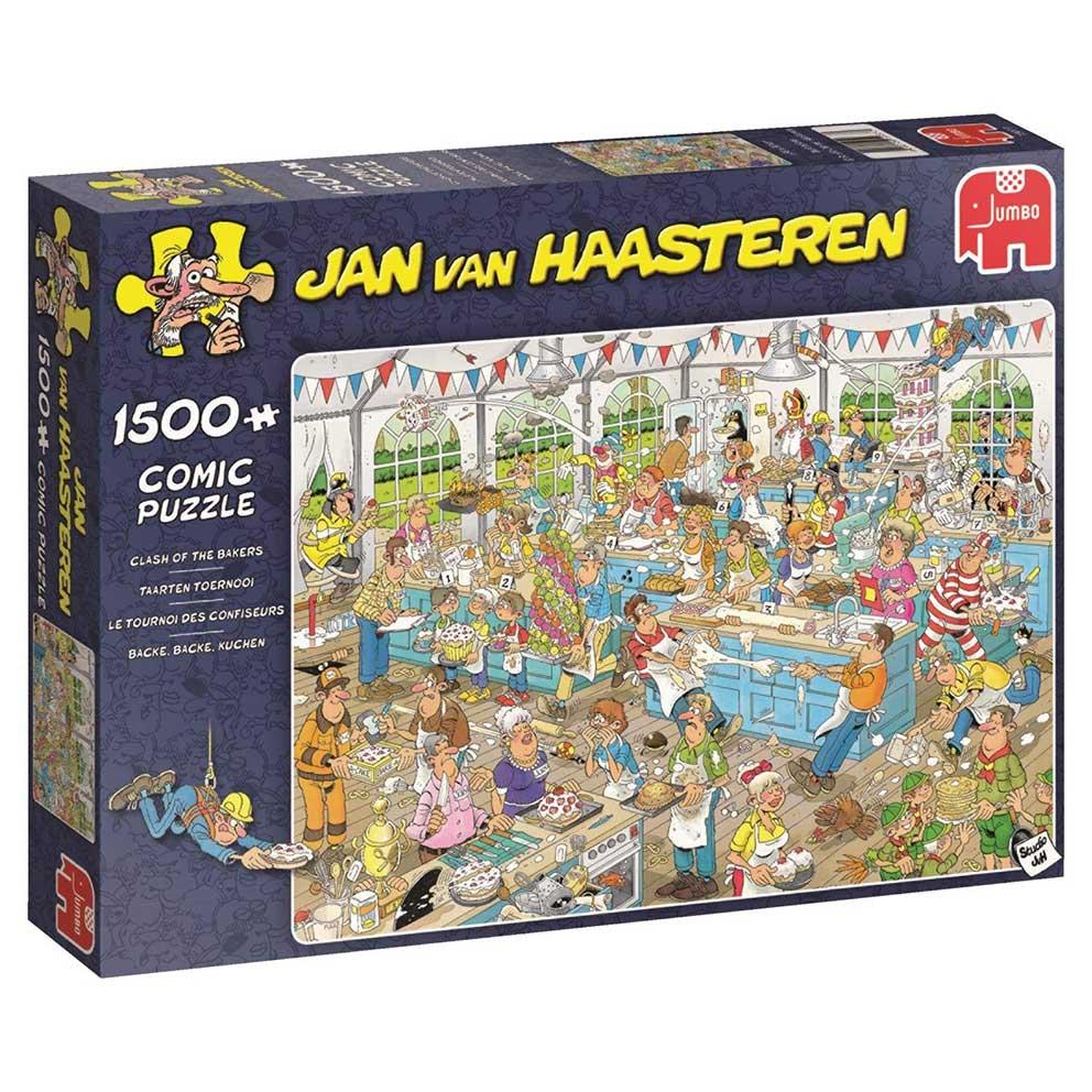 Puzzle Jumbo Clase de Repostería de 1500 Piezas