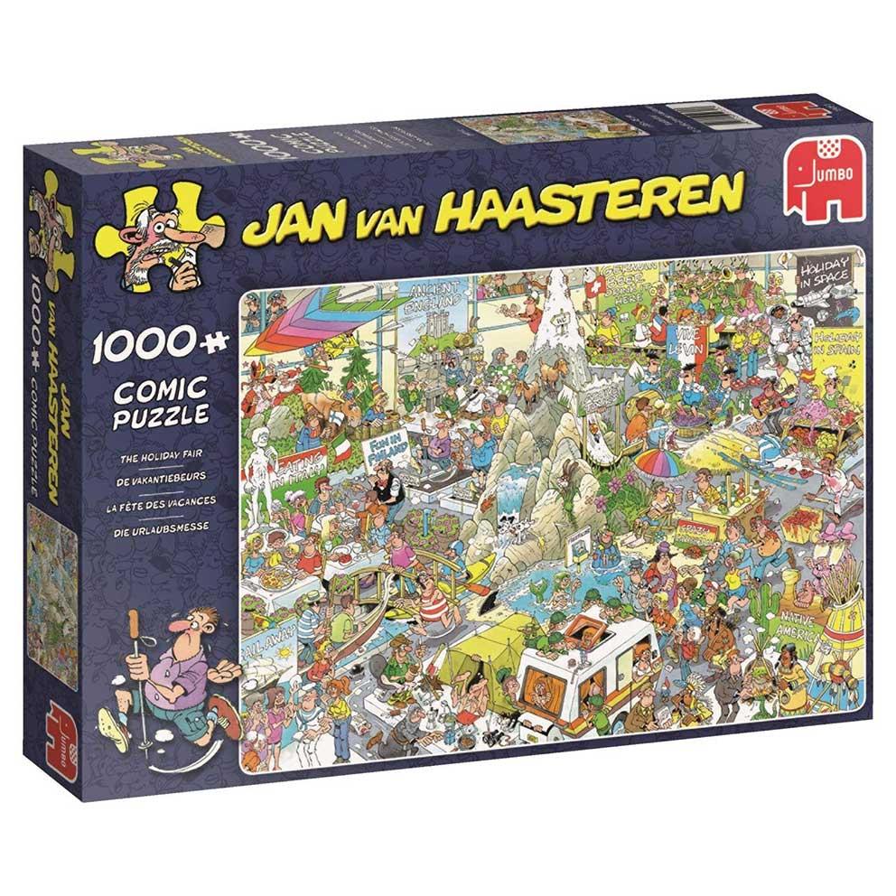 Puzzle Jumbo Congreso de Vacaciones de 1000 Piezas