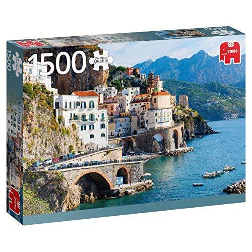 Puzzle Jumbo Costa de Amalfi, Italia de 1500 Piezas