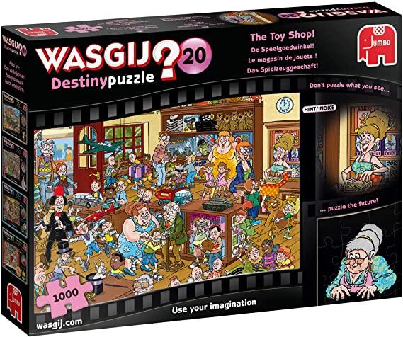 Puzzle Jumbo Destiny La Tienda de Juguetes de 1000 Piezas