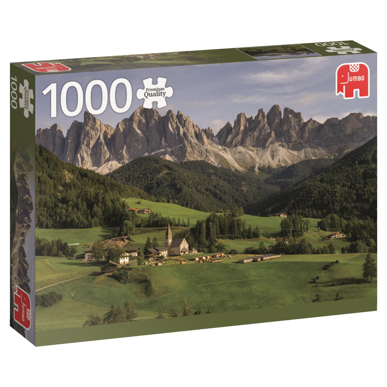 Puzzle Jumbo Dolomitas, Italia de 1000 Piezas