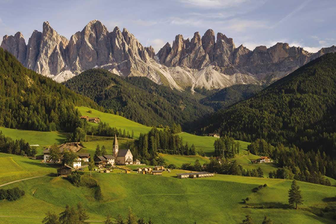 Puzzle Jumbo Dolomitas, Italia de 1500 Piezas