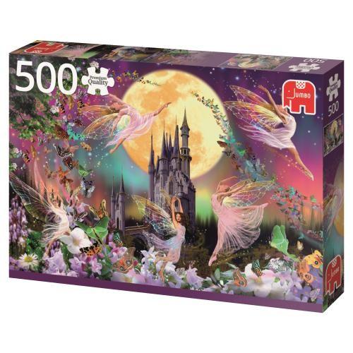 Puzzle Jumbo Duendes y Hadas Bailando de 500 Piezas