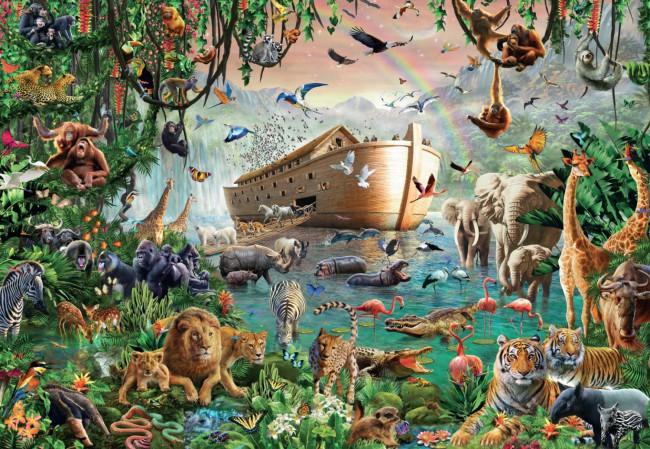 Puzzle Jumbo El Arca de Noé de 3000 Piezas