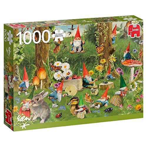 Puzzle Jumbo El Bosque de los Gnomos de 1000 Piezas