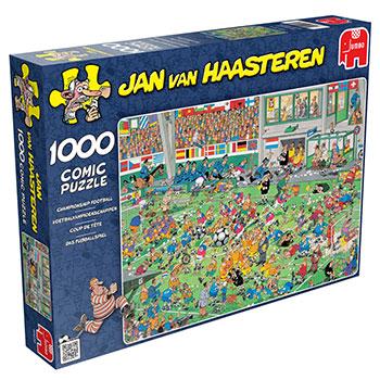 Puzzle Jumbo El Campeonato de Fútbol de 1000 Piezas
