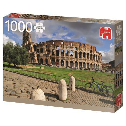 Puzzle Jumbo El Coliseo, Roma de 1000 Piezas