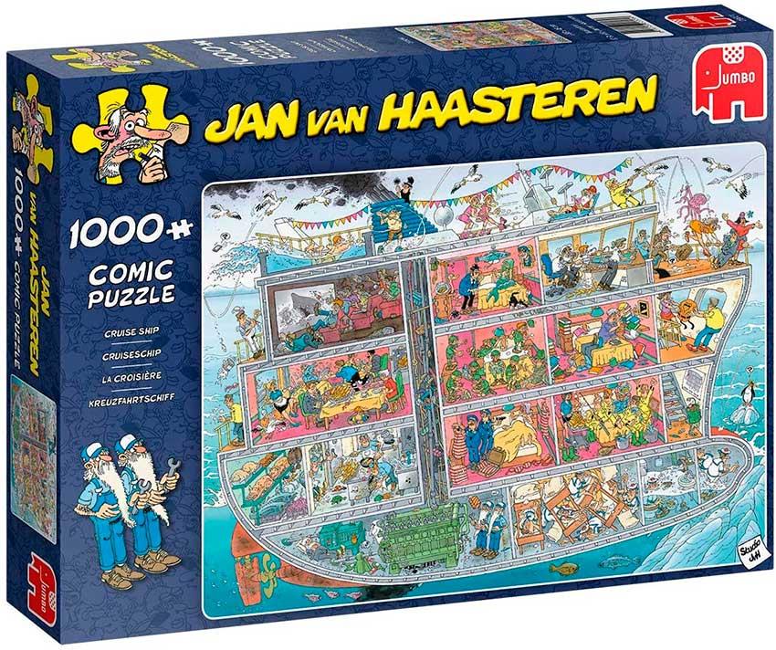 Puzzle Jumbo El Crucero de 1000 Piezas
