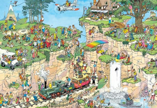 Puzzle Jumbo El Curso de Golf de 1500 Piezas