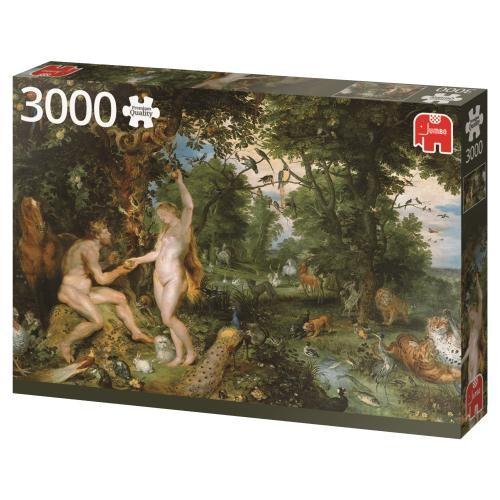 Puzzle Jumbo El Jardín del Edén de 3000 Piezas