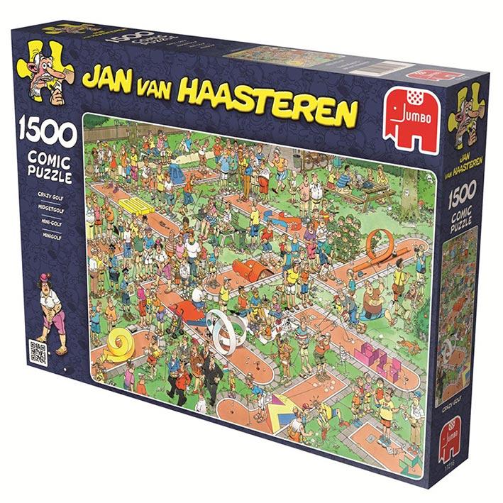 Puzzle Jumbo El Minigolf de 1500 Piezas