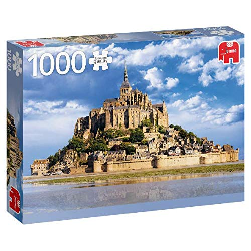 Puzzle Jumbo El Mont Saint-Michel, Bretaña Francesa de 1000 Piez