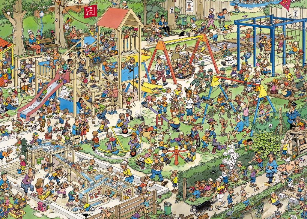 Puzzle Jumbo El Recreo de 1000 Piezas