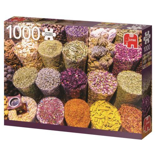Puzzle Jumbo Especias de 1000 Piezas