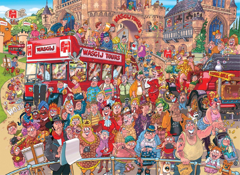 Puzzle Jumbo Estudio de Pintura de 1500 Piezas