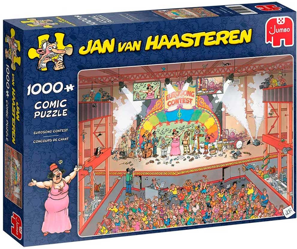 Puzzle Jumbo Eurovisión de 1000 Piezas