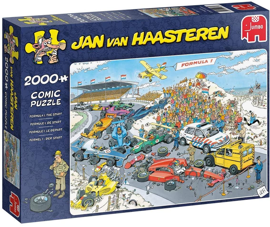 Puzzle Jumbo Formula 1, Grand Prix de 2000 Piezas