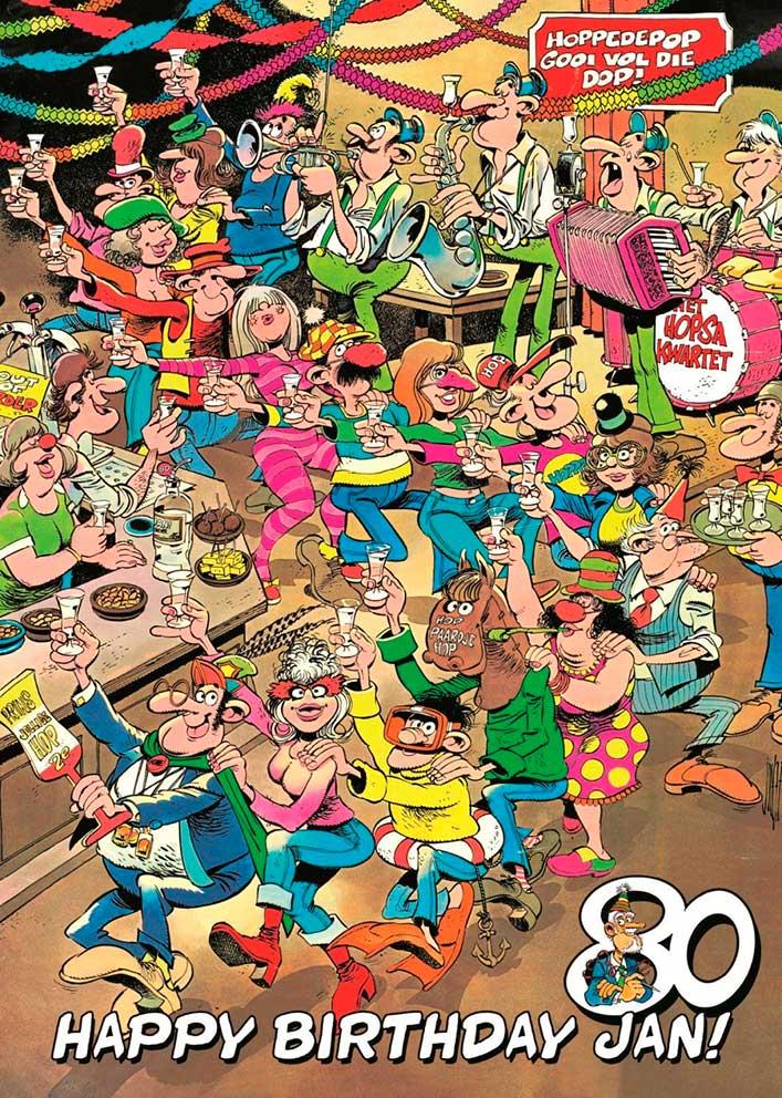 Puzzle Jumbo Feliz Cumpleaños, Jan de 1000 Piezas