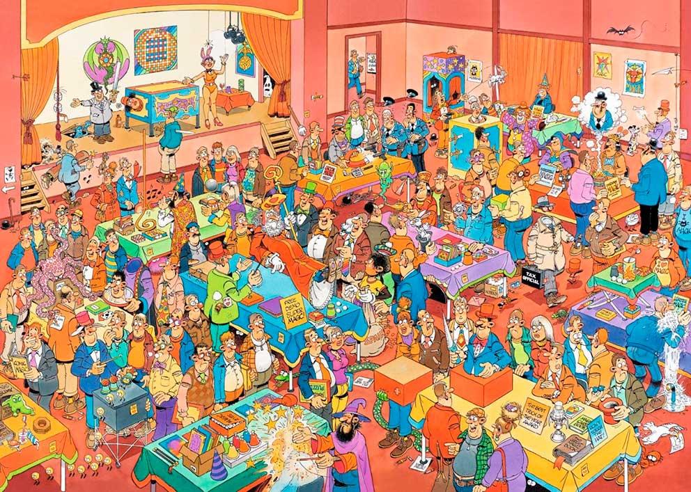 Puzzle Jumbo Feria de la Mágia 1000 Piezas