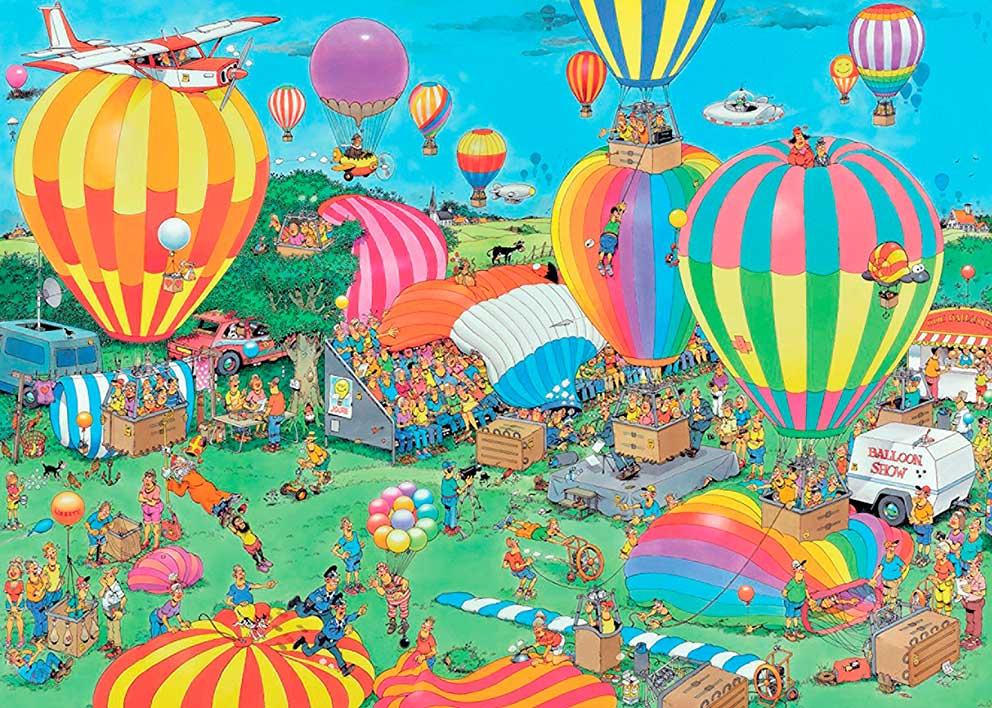 Puzzle Jumbo Festival de Globos Aerostáticos de 1000 Piezas