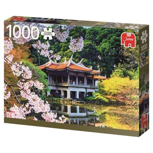 Puzzle Jumbo Flores en Japón de 1000 Piezas