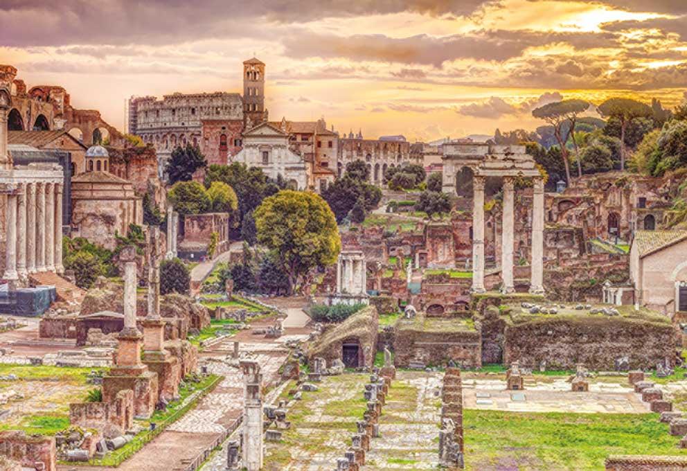 Puzzle Jumbo Foro Romano de 5000 Piezas